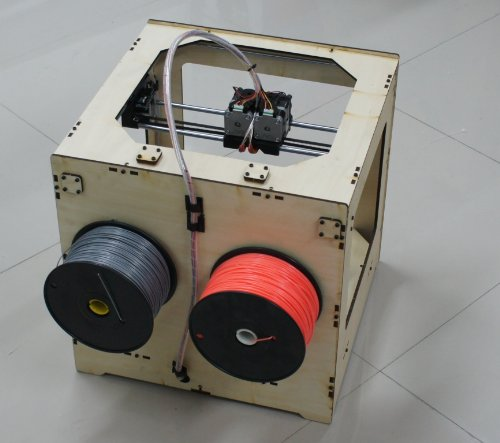 Jet open source 3d printer - side