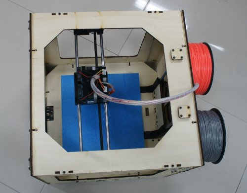 Jet open source 3d printer - top view